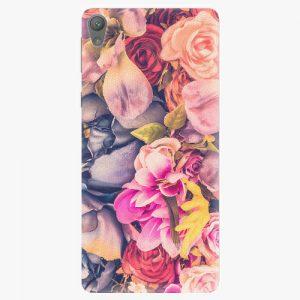 Plastový kryt iSaprio - Beauty Flowers - Sony Xperia E5