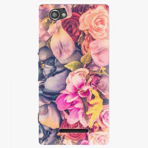 Plastový kryt iSaprio - Beauty Flowers - Sony Xperia M