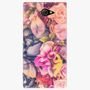 Plastový kryt iSaprio - Beauty Flowers - Sony Xperia M2