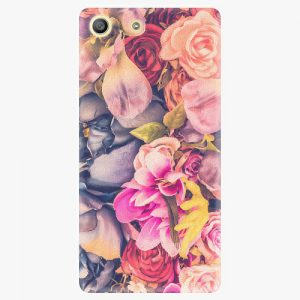 Plastový kryt iSaprio - Beauty Flowers - Sony Xperia M5