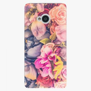 Plastový kryt iSaprio - Beauty Flowers - HTC One M7