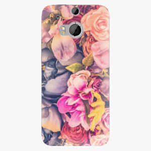 Plastový kryt iSaprio - Beauty Flowers - HTC One M8