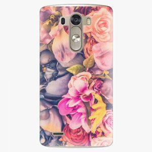 Plastový kryt iSaprio - Beauty Flowers - LG G3 (D855)