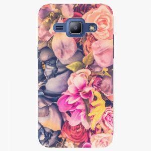 Plastový kryt iSaprio - Beauty Flowers - Samsung Galaxy J1