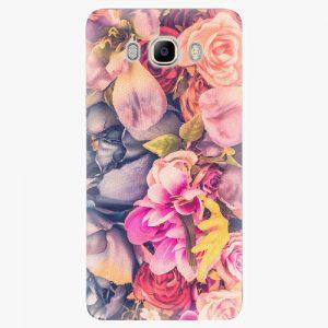 Plastový kryt iSaprio - Beauty Flowers - Samsung Galaxy J7 2016