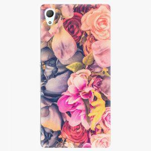 Plastový kryt iSaprio - Beauty Flowers - Sony Xperia Z3+ / Z4