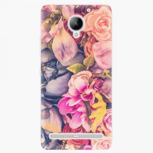 Plastový kryt iSaprio - Beauty Flowers - Lenovo C2