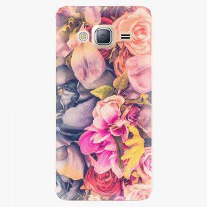 Plastový kryt iSaprio - Beauty Flowers - Samsung Galaxy J3
