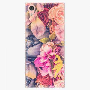 Plastový kryt iSaprio - Beauty Flowers - Sony Xperia XA1