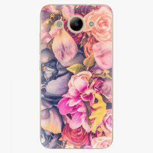 Plastový kryt iSaprio - Beauty Flowers - Huawei Y3 2017