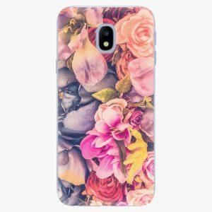 Plastový kryt iSaprio - Beauty Flowers - Samsung Galaxy J3 2017