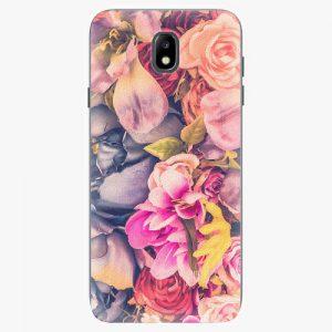 Plastový kryt iSaprio - Beauty Flowers - Samsung Galaxy J7 2017