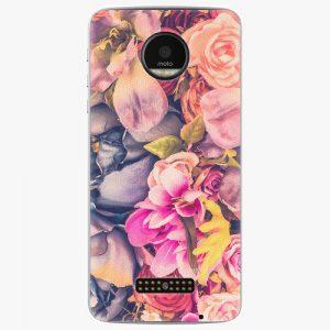 Plastový kryt iSaprio - Beauty Flowers - Lenovo Moto Z