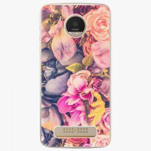 Plastový kryt iSaprio - Beauty Flowers - Lenovo Moto Z Play