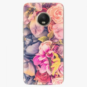 Plastový kryt iSaprio - Beauty Flowers - Lenovo Moto G5 Plus