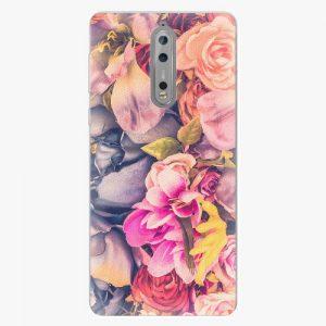 Plastový kryt iSaprio - Beauty Flowers - Nokia 8