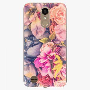 Plastový kryt iSaprio - Beauty Flowers - LG K10 2017