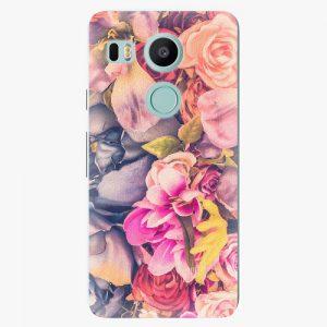 Plastový kryt iSaprio - Beauty Flowers - LG Nexus 5X