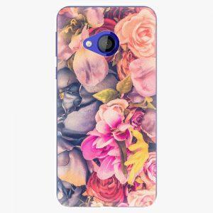 Plastový kryt iSaprio - Beauty Flowers - HTC U Play