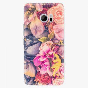 Plastový kryt iSaprio - Beauty Flowers - HTC 10