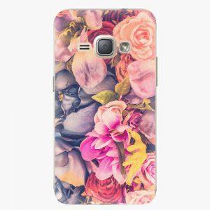 Plastový kryt iSaprio - Beauty Flowers - Samsung Galaxy J1 2016