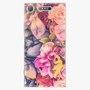 Plastový kryt iSaprio - Beauty Flowers - Sony Xperia XZ1