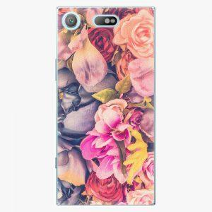 Plastový kryt iSaprio - Beauty Flowers - Sony Xperia XZ1 Compact