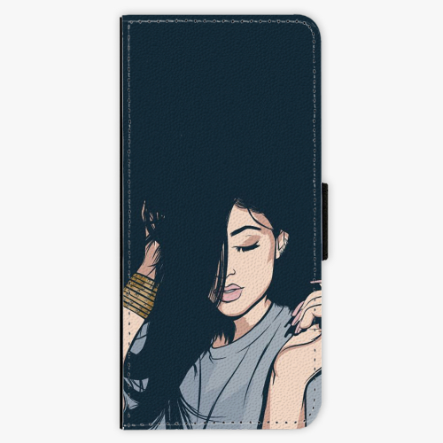 Flipové pouzdro iSaprio - Swag Girl - Samsung Galaxy Note 8