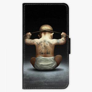 Flipové pouzdro iSaprio - Crazy Baby - Samsung Galaxy A5