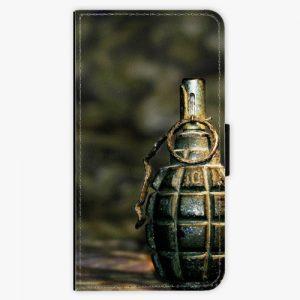 Flipové pouzdro iSaprio - Grenade - Nokia 3