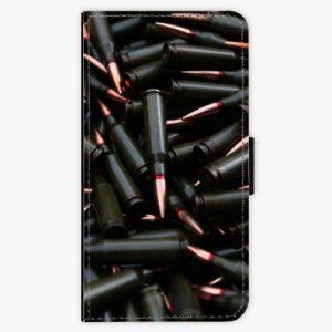 Flipové pouzdro iSaprio - Black Bullet - Huawei Nova