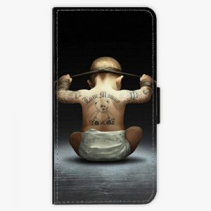 Flipové pouzdro iSaprio - Crazy Baby - Sony Xperia XZ