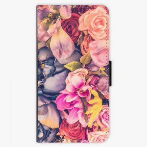 Flipové pouzdro iSaprio - Beauty Flowers - Sony Xperia XZ