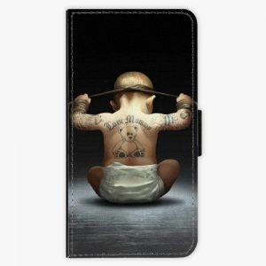 Flipové pouzdro iSaprio - Crazy Baby - Huawei Ascend P8