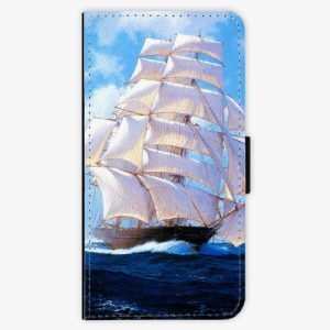 Flipové pouzdro iSaprio - Sailing Boat - Huawei Ascend P8