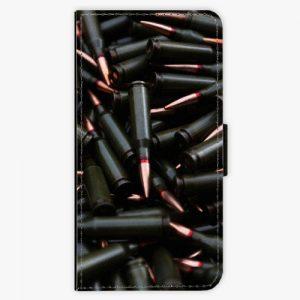 Flipové pouzdro iSaprio - Black Bullet - Huawei Ascend P8