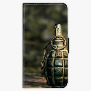 Flipové pouzdro iSaprio - Grenade - Huawei Ascend P8