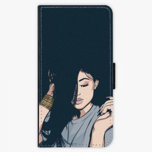 Flipové pouzdro iSaprio - Swag Girl - Huawei Ascend P8