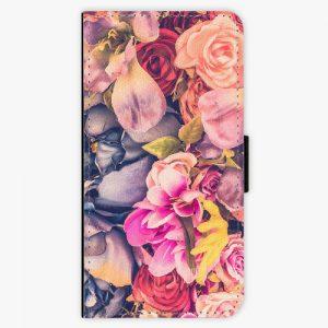 Flipové pouzdro iSaprio - Beauty Flowers - Huawei Ascend P8