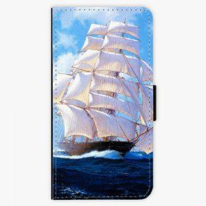 Flipové pouzdro iSaprio - Sailing Boat - Huawei P9