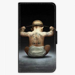 Flipové pouzdro iSaprio - Crazy Baby - Huawei P10 Plus
