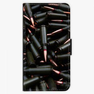 Flipové pouzdro iSaprio - Black Bullet - Huawei P10 Plus