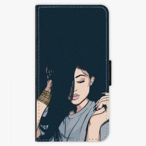 Flipové pouzdro iSaprio - Swag Girl - Huawei P10 Plus