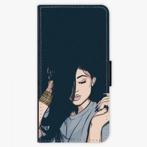 Flipové pouzdro iSaprio - Swag Girl - iPhone 8 Plus