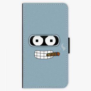 Flipové pouzdro iSaprio - Bender - Nokia 3