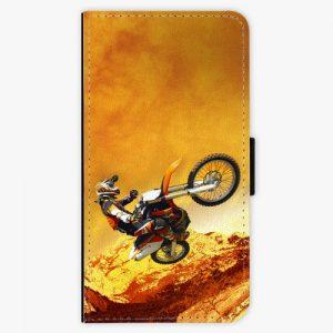 Flipové pouzdro iSaprio - Motocross - Huawei Nova