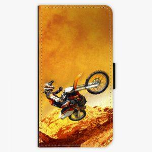 Flipové pouzdro iSaprio - Motocross - Huawei P9