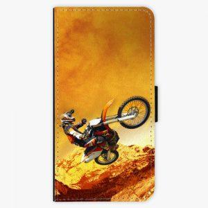 Flipové pouzdro iSaprio - Motocross - iPhone 8 Plus