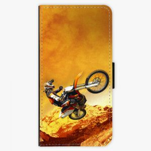 Flipové pouzdro iSaprio - Motocross - Nokia 6