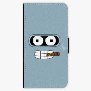 Flipové pouzdro iSaprio - Bender - Nokia 6